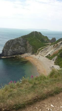 South West Coast Path- Lulworth Cove & The Fossil Forest Walk: 20160602_134127_large.jpg