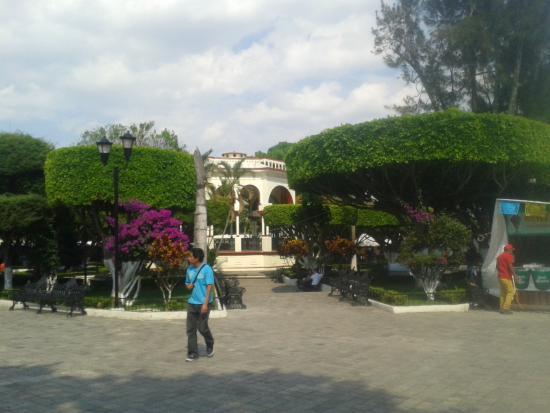 Comitan, Μεξικό: Quiosco Central en el Parque Central de Comitán Chiapas.