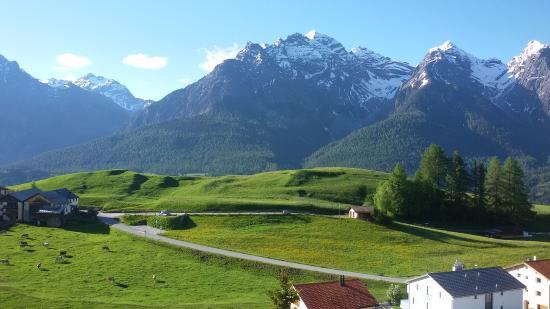 Ftan, Swiss: Blick nach Süden