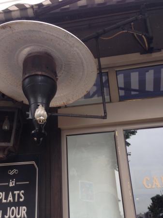 Cafe Le Blanc Cassis  Rue Dupetit Thouars  Paris