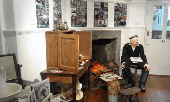 Longford, Irland: 1916 exhibition room