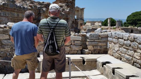 Public Latrine : When in Ephesus.....