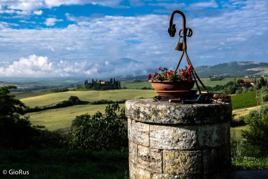 Agriturismo La Buca : Foto panoramica dalla camera