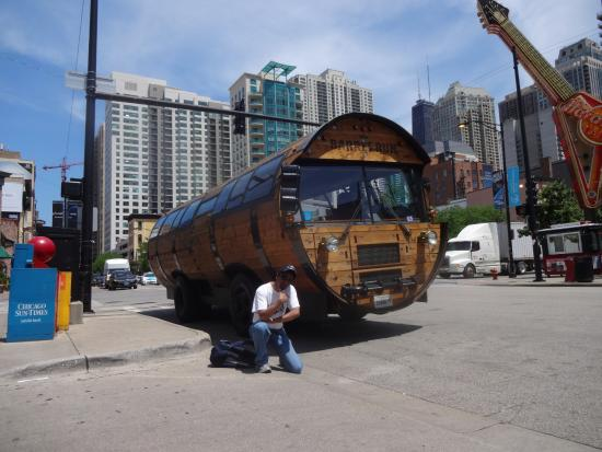 Our unique bus! - Picture of The Barrel Run, Chicago ...