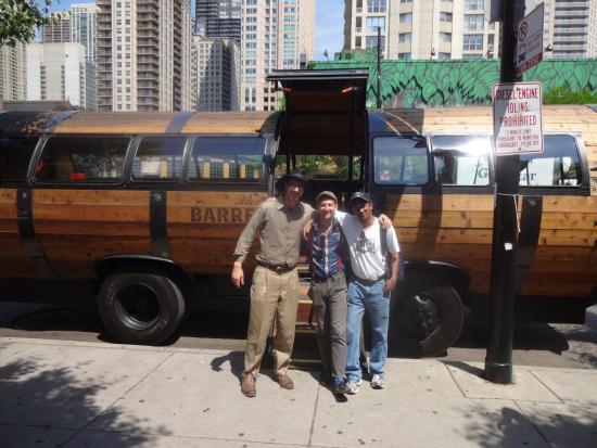 The big bad Barrel Bus - Picture of The Barrel Run ...