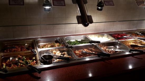 Littleton, NH: part of the buffet