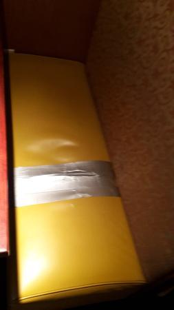 Littleton, NH: yep, duct tape works :-)