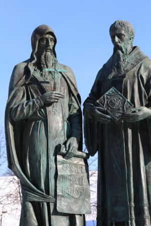 ‪Monument to Cyril and Methodius‬