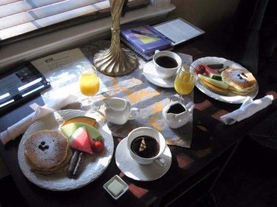 Stafford House : Breakfast Day 1