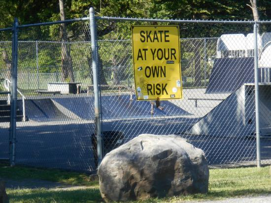 Tobyhanna, Pensilvanya: Warning sign