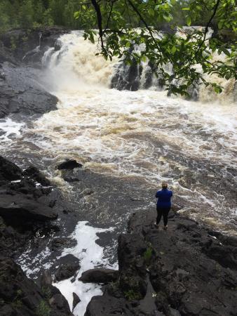 Ely, Μινεσότα: Kawishiwi Falls Trail