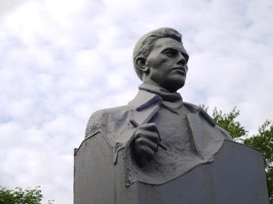 Bust of Yulius Fuchik