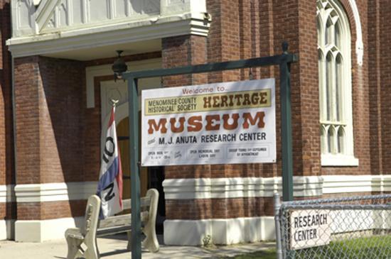 Menominee Museum Hours