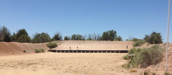 Paulden, AZ: Hanneken Range. This is where most of the 250 Pistol class takes place. Targets can turn and fac