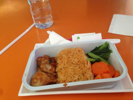POP! Hotel Kuta Beach: simple breakfast taste plain