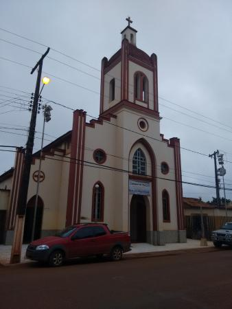 Altamira, PA: Fachada da Sé na Madrugada