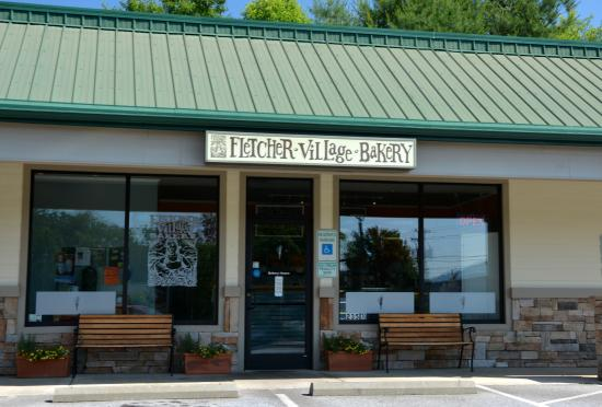 Fletcher Village Bakery: Welcoming Entrance