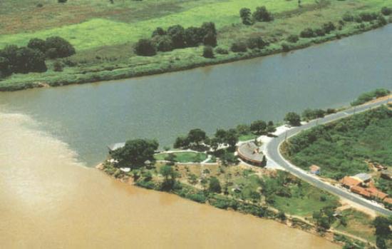 Parque Ambiental Encontro dos Rios: O encontro dos dois rios