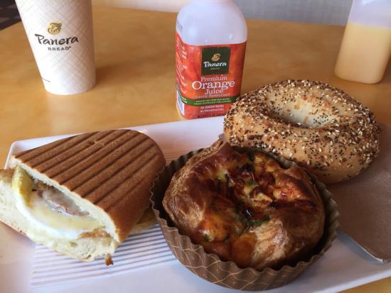 Panera Bread Simple Breakfast Sandwiches