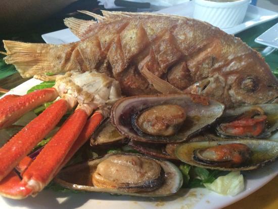 Alegria 39 s seafood columbus omd men om restauranger for Fish restaurants in columbus ohio