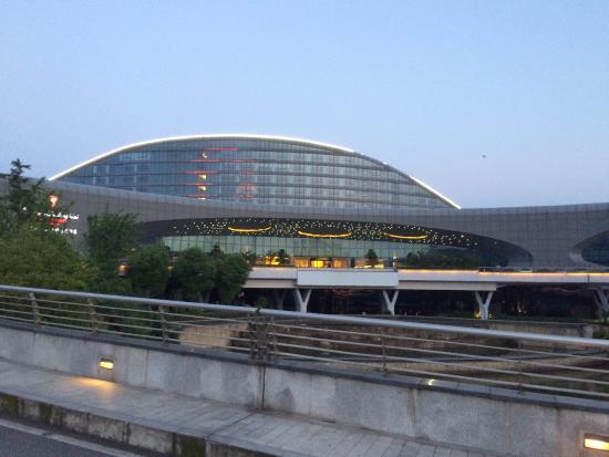 Huangshi, Chine : vista de frente do hotel