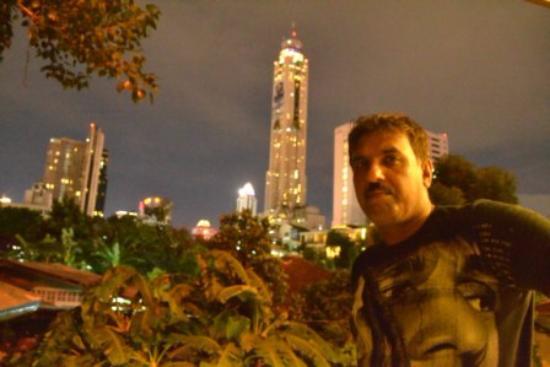 Bangkok Garden Resort : Bangkok Skyline from the Balcony
