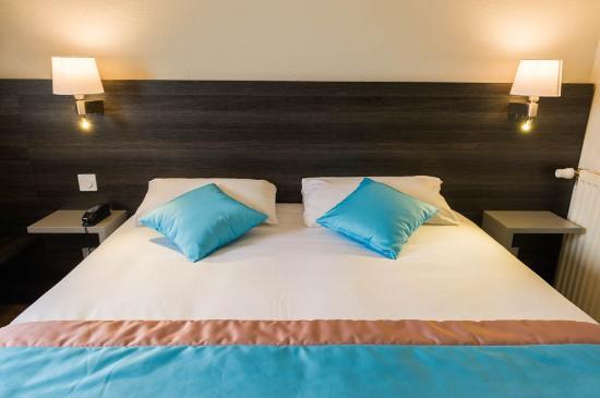 Carline Hotel: chambre bleue