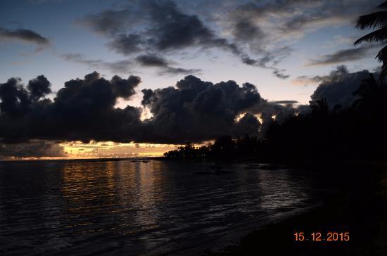 Le Surcouf Hotel & Spa: Sunrise
