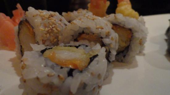 Kimonos: Close Up - Shrimp Tempura Roll
