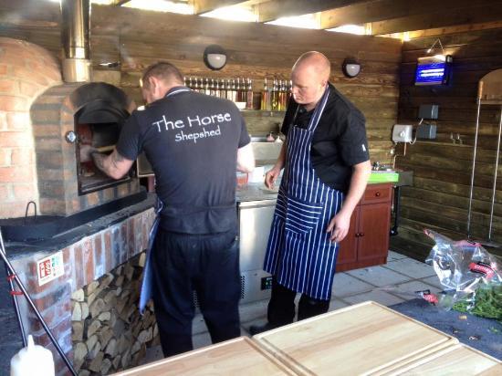 Shepshed, UK: In it goes
