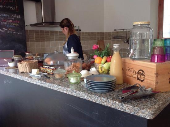 Casola in Lunigiana, Italy: Buffet breakfast