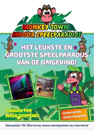 monkeytown - photo de monkey town warmond, warmond - tripadvisor