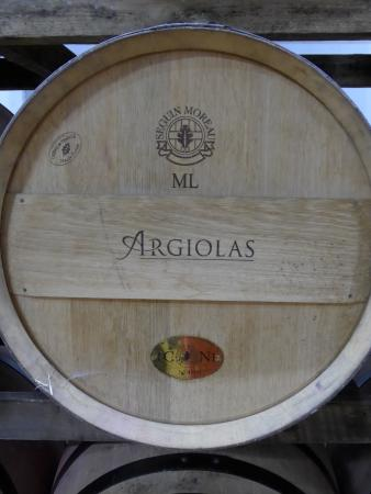 Serdiana, İtalya: Nur das beste Holz ist gut genug: Séguin Moreau