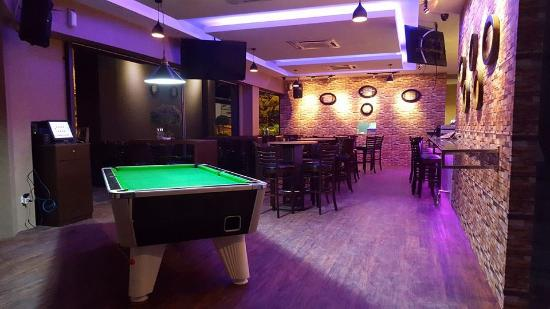 Bar with Pool table Picture of Olive at the Bay Johor Bahru