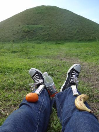 Silbury Hill: Time for a snack!