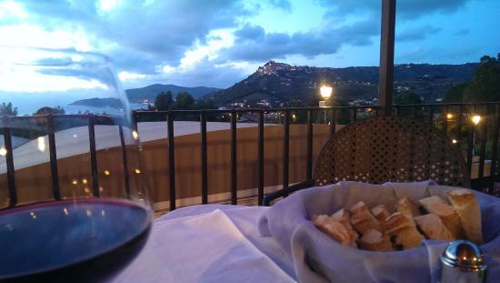 Hotel Hermitage Castellabate: Panorama dal terrazzo