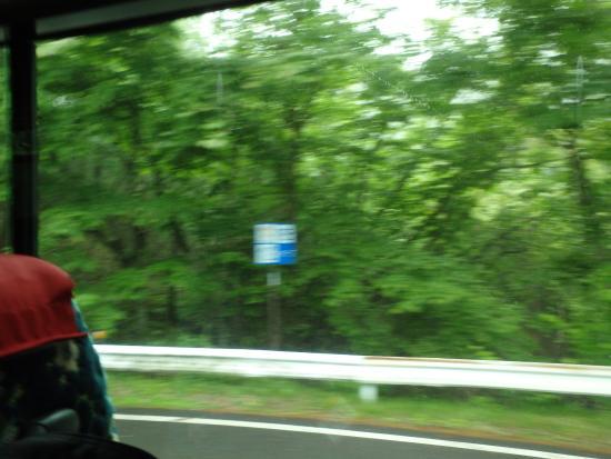 Irohazaka Route : スピード出過ぎ・・文字が映らない