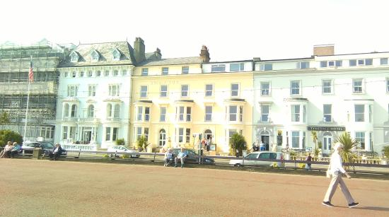 Brig-y-Don Hotel: View from the Prom.