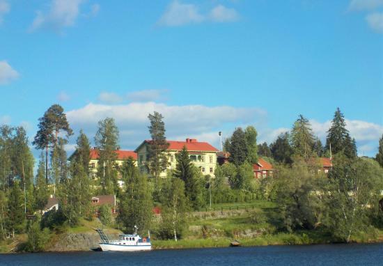 Jarvso, Sverige: Vy mot Stenegård