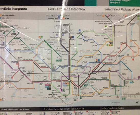 This may help you metro map Picture of Eurostars Monumental