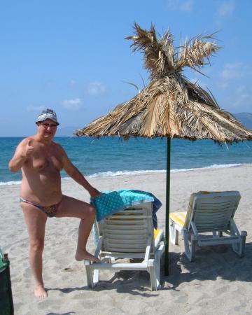 Xerokambos (Exotic Beach): Exotic Beach sunbeds