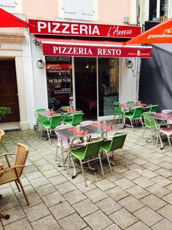 Tournon-sur-Rhone, Fransa: L'Annexe Pizzeria