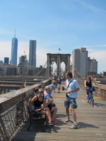Jerry's Grand Tour of New York City: Brooklyn Bridge.