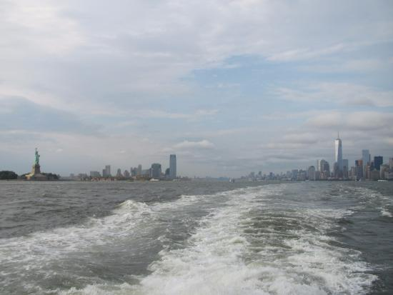 Jerry's Grand Tour of New York City: The ferry ride to Staten Island.