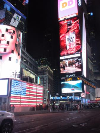 Jerry's Grand Tour of New York City: Times Square.