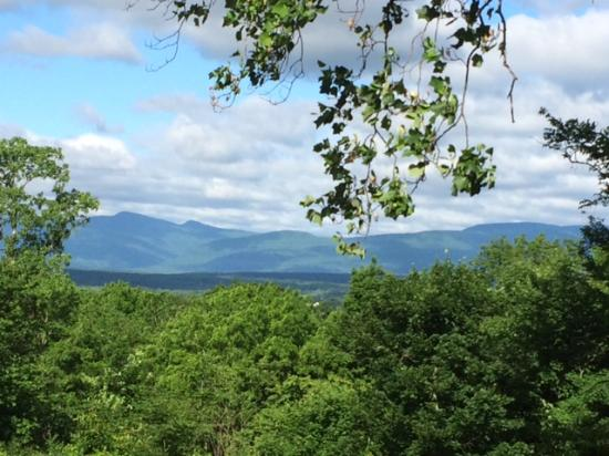 Catskill, NY: See... From the front porch looking Westward.