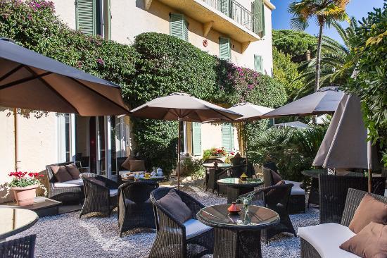 Ideal Sejour Hôtel : le jardin