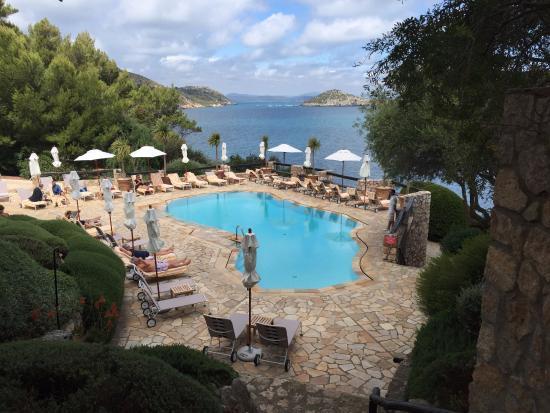 Hotel Il Pellicano: a very elegant pool