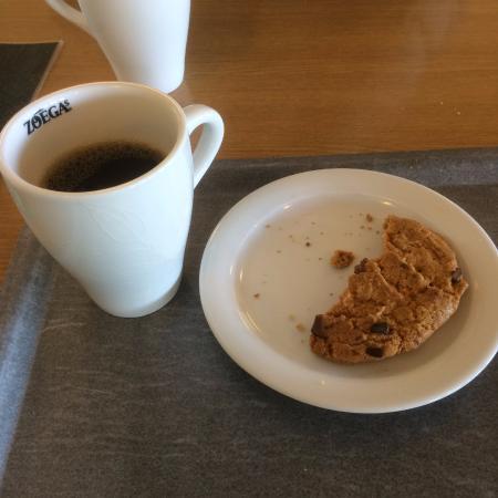 Hotel Vidostern Varnamo: Kaffe med bröd