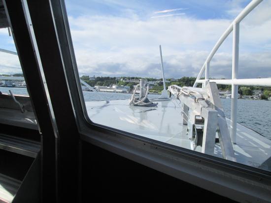 Mackinaw City, MI: Entering Mackinac Island